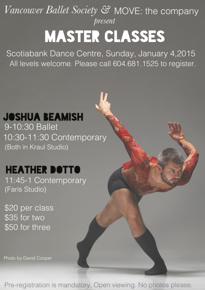 Josh Beamish Jan.5'15 MC poster