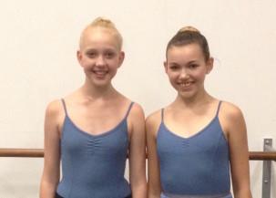Shanna and Nathalie at School of Alberta Ballet