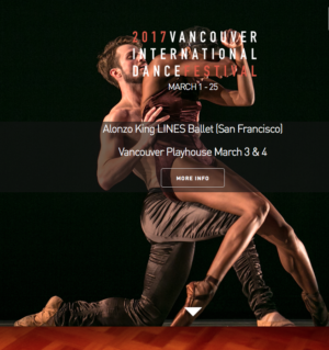 Early Bird Special for Alonzo King LINES Ballet (San Francisco)