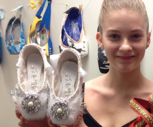 Beautiful Pointe Shoes Auction to January 31