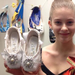 Beautiful Pointe Shoes Auction Closes April 30