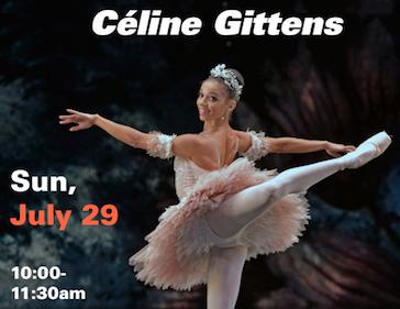 Celine Gittens Master Class: July 29