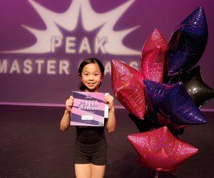 Aerin, Peak Master Classes Dancer of the Year!