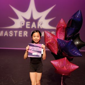 Aerin, Peak Master Classes Dancer of the Year!