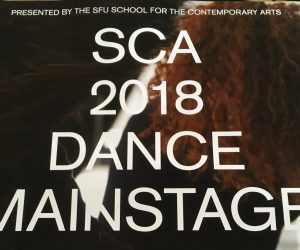 CSD Grads in SFU Dance Show Nov 14 – 17