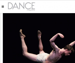 "Ben Freemantle in DANCE Magazine's ""25 to Watch""!"