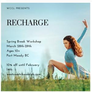West Coast Choreo Lab Workshop March 28-29